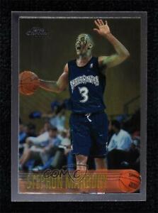 1996-97 Topps Chrome Stephon Marbury #177 Rookie RC