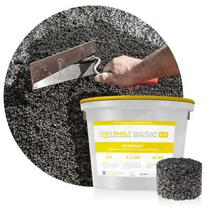 (1,04€/kg) 25 kg Kaltasphalt Kaltmischgut Reparaturasphalt EASYPHALT® BASIC