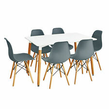 Dining table and 6 chairs retro  DSW Eiffel-0--...