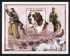 ZAIRE - CONGO 1997, DOGS, SLED DOGS , MNH