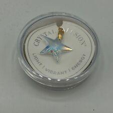 NEW! Alex and Ani Silver Wish Swarovski Crystal Star Necklace Charm