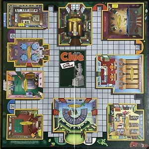 Game Parts Pieces Clue The Simpsons 2000 Hasbro Gameboard Only