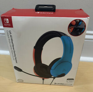 Nintendo Switch LVL40 Wired Stereo Gaming Headset