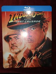 Indiana Jones and the Last Crusade Blu-Ray Steelbook - New sealed