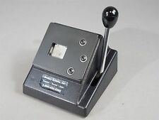 Laminex C-1 Manual Die Cutter Used