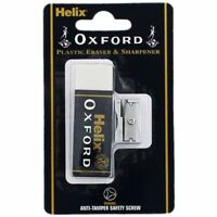 HELIX OXFORD SHARPENER ERASER Stationary for School and Office Work