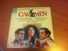LP GEORGES BIZET CARMEN DOMINGO MIGENES JOHNSON NUM 75120 EX/EX+ ITALY 1984 RAI