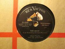 Rock 78 RPM Vinyl Records