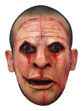 Scary Halloween Latex Face Mask Serial Killer Scars Creepy Party Costume