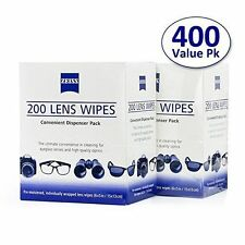Zeiss Pre-Moistened Lens 400 LCD LED Screen Optical Camera Cleaning Cloth Wipes