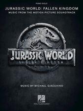 """""""Jurassic World: Fallen Kingdom"""" Piano Solo Music Book-From The Movie-Brand New!"""