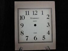 Vintage Clock Face Renaissance Square Mantle Grandfather Wall Repair Fade