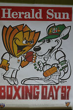 Cricket - Collectable - WEG - Herald Sun - ACB Boxing Day Test 1997 Aust. vs SA