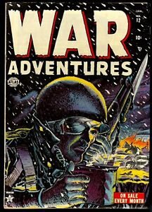 War Adventures #12...Atlas Comics Pre-code War...Fantastic classic cover