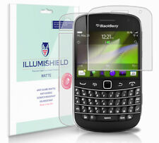 iLLumiShield Anti-Glare Matte Screen+Back Protector 3x for BlackBerry Bold 9900