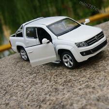 Amarok Volkswagen SVT Car Model Alloy Diecast 1:32 Sound&Light Pickup White Gift