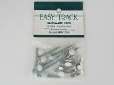 Easy Track RH1004 Hardware Pack 16 Shelf Pins, 8 Screw, 8 Screw covers Windquest