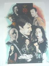 COMIKAZE 2014 EXCLUSIVE SERENITY PRINT FIREFLY SIGNED BY JEWEL STAITE