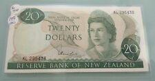 WILLIE: New Zealand 20 Dollar UNC Year 1977