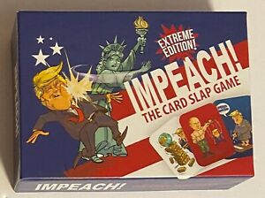 Impeach The Card Slap Game Extreme Edition Donald Trump