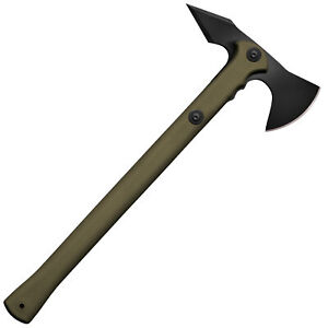 Cold Steel Carbon Steel Tactical Trench Hawk Tomahawk Throwing Axe and Sheath