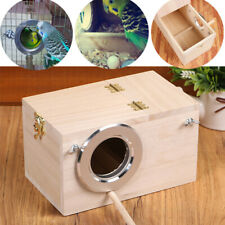 Wooden Nest Pet Parrot Budgies Parakeet Breeding Nesting Box Bird Supplies