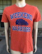 Vintage 90s Abercrombie & Fitch Weekend Warriors T Shirt Single Stitch Size XL