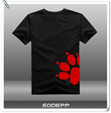 PS3 PS4 Naughty Dog 25th Anniversary short sleeves cotton T-shirt Black