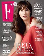 F Magazine Italy Monica Bellucci Sergio Muniz The Kardashian Kim Kendall Jenner