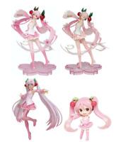 Hatsune Miku Sakura Miku Figure Bulk Sale 4 Body Set NEW