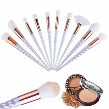 10Pcs Unicorn Makeup Brushes Set Powder Foundation Eyeshadow Lip Cosmetic Brush
