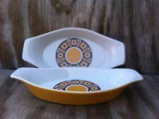 Siena Ware By Imperial International Au Gratin Porcelain Dishes Set Of 2 Japan