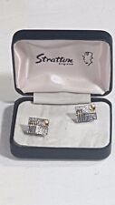 Stratton of London Cufflinks Boxed Sports Design Game of Cricket No 12