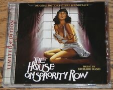 THE HOUSE ON SORORITY ROW 1983 RICHARD BAND 2015 LA-LA LAND RECORDS SCORE