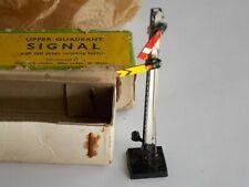 More details for vintage boxed gem upper quadrant signal 00 gauge 2 arm + ladder model railway