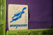 Alter Aufkleber VDST Sporttaucher (blau)