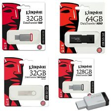 🥇🥇 Pendrive Kingston 32GB 64GB 128GB 256 GB USB 3.0 Memoria USB Oferta 🥇🥇