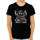 4th of July Shirts for Boys Patriotic Shirts for Boys Peace Liberty Justice Blac
