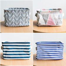 Collapsible Storage Basket Bin Toys Organizer Box Fabric Baskets Multi-Color Bin