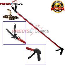 """52"""" Snake Tongs Heavy Duty Stick Reptile Rattlesnake Catcher & Grabber Sn-01"""