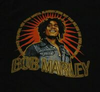 Vintage BOB MARLEY Jamaica Music EMANCIPATE YOURSELF T Shirt FREE Shipping sz XL