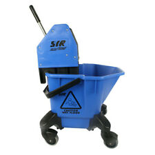 More details for syr tc20 kentucky mop bucket and wringer 20l - blue