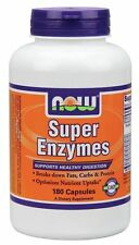 Now Foods super Enzyme 180 Kapseln