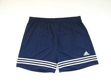 Camiseta De Fútbol Adidas Azul Marino Deporte Pantalones Cortos Retro de gran tamaño para hombre XXL W38
