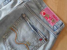 REPLAY  Jeansshorts pinkes Blumenlabel Gr. 26 w. NEU