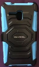 Evocel Alcatel One Touch Fierce XL New Generation Rugged Holster Dual Layer BLUE