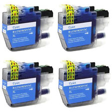 4 Compatible LC3219 (LC3217) C XL inks for Brother J6935DW J5330DW  J5335DW