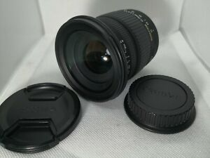 "Sigma 17-70mm F/2.8-4.5 DC AF Lens for Canon EF w/2Caps ""Excellent+"" #21281"