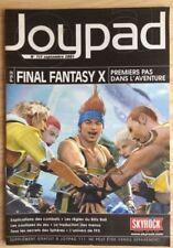 GUIDE SOLUCE JEUX VIDEO FINAL FANTASY X 10 #SONY PLAYSTATION 2 #JOYPAD (2001)