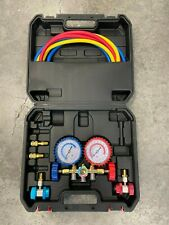 Manifold Gauge Set Includes Hose Set For Low High And Service Valves